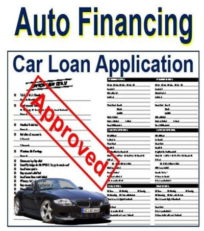 Auto financing - definition and meaning - Market Business News