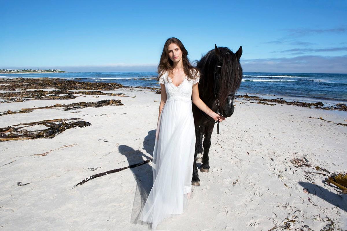 bohemian wedding dress simple bohemian wedding dresses The dreamy dresses of Rembo Styling