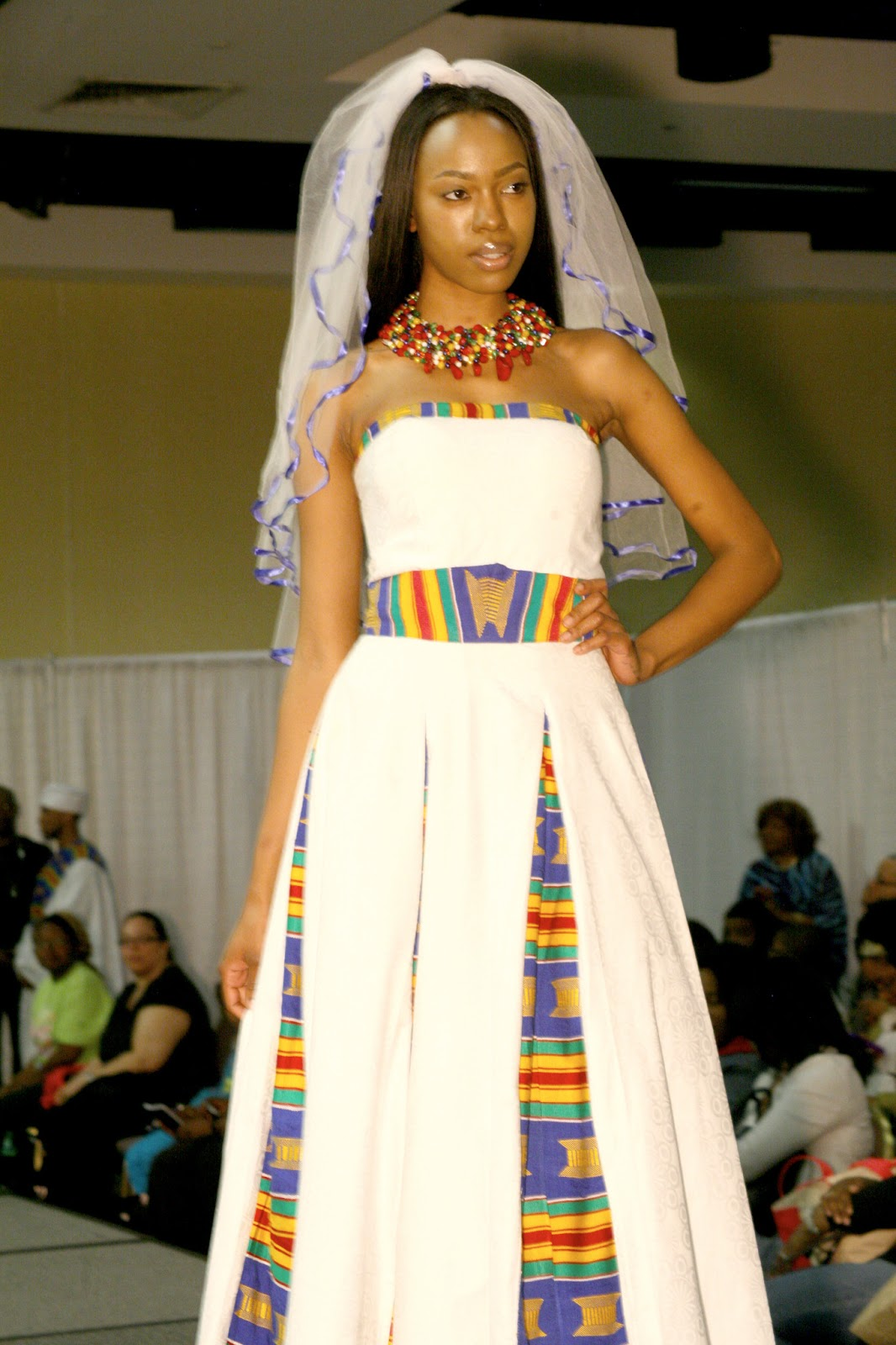 rock an african wedding dress on your big day african american wedding dresses Afrowed 8