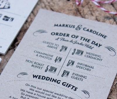 Matt Herivel :: Wedding Invitations