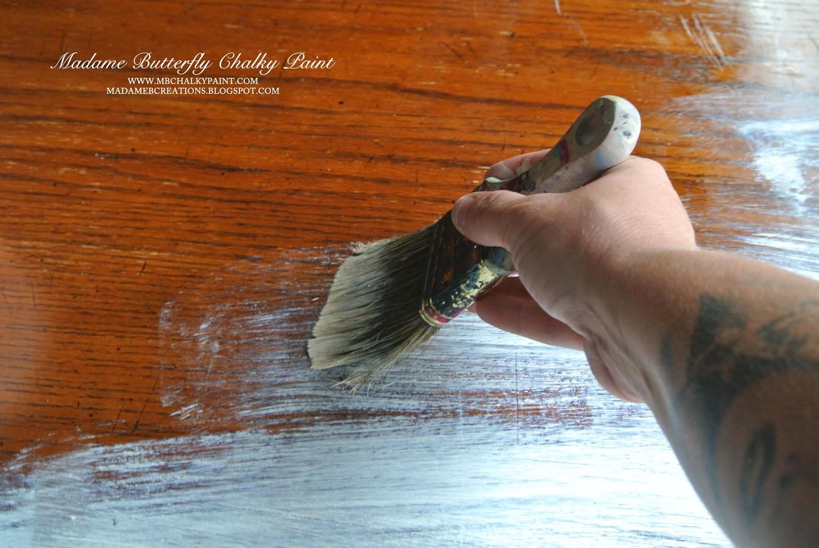 vaseline trick painting kitchen table vaseline trick chippy distressed farmhouse rustic kitchen table furniture ideas