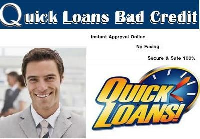 Quick loans bad credit are obtainable for small cash problems of borrowers. They are approved ...