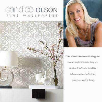 We carry Candice Olson wallpaper book | Candice Olson Design | Pinter…