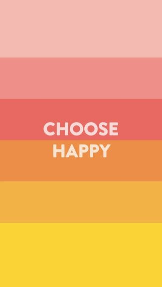 Choose Happy iPhone 5C / 5S wallpaper | iPhone Wallpapers | Pinterest