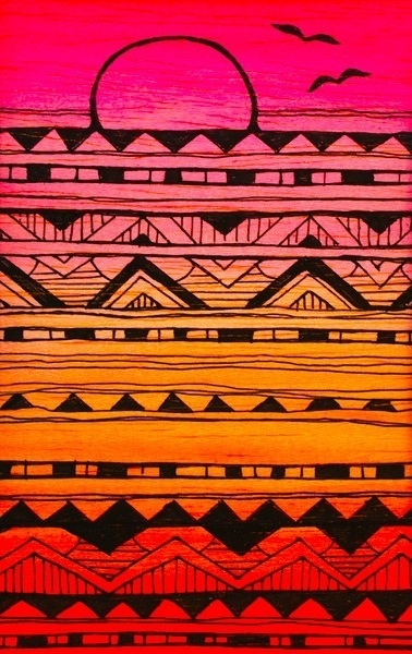 Aztec Patterns :) | apple nerd | Pinterest