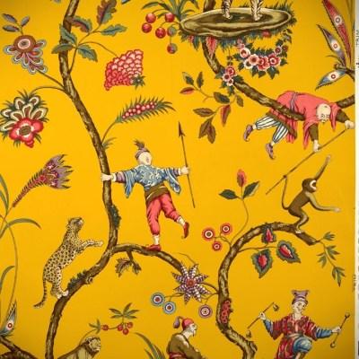 Scalamandre Chinoise Exotique wallpaper   Oriente   Pinterest