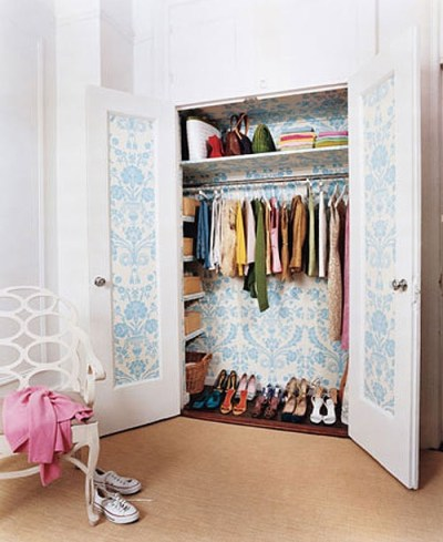 closet wallpaper | Home Sweet Home | Pinterest