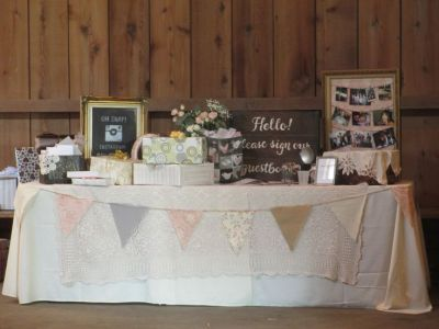 The Gift Table | Weddings at Genesee Country Village ...