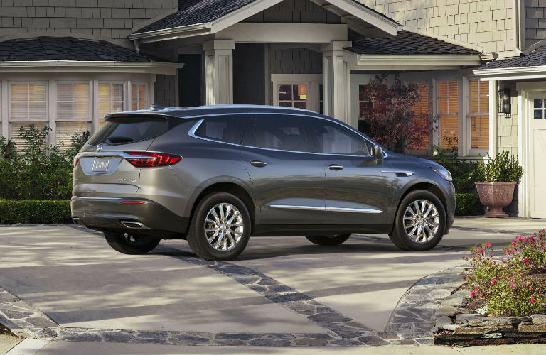 Todd Wenzel Buick GMC of Westland Blog Post gray 2018 Buick Enclave parked outside home  Back to top  Todd Wenzel Buick  GMC of Westland