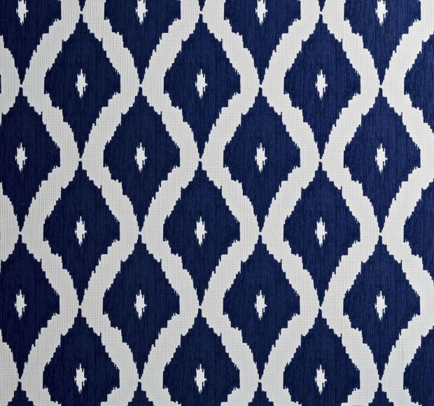 Buy Graham & Brown Wallpaper Ikat Blue at Argos.co.uk - Your Online Shop for Wallpaper ...