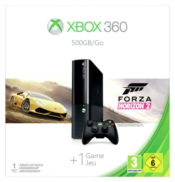 Buy Xbox 360 500GB Console and Forza Horizons 2 Bundle at Argos.co.uk - Your Online Shop for ...