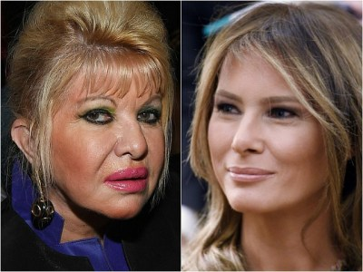 First Family Feud: Melania, Ivana Trump Trade Public Barbs over Which Trump Wife More Effective