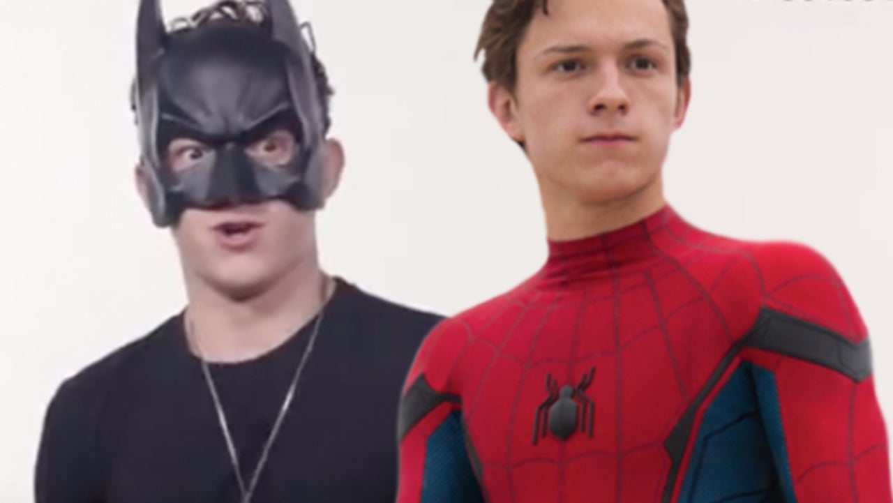 Tom Holland s  Secret  Spider Man Audition Sees Him Play Batman