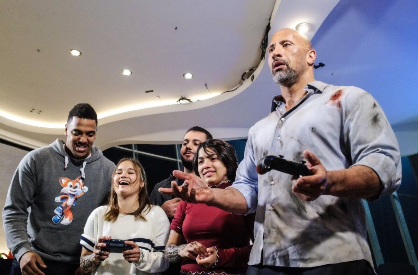 The Rock And Make A Wish Foundation Team Up To Give Away Custom Xbox     The Rock And Make A Wish Foundation Team Up To Give Away Custom Xbox One X  Consoles