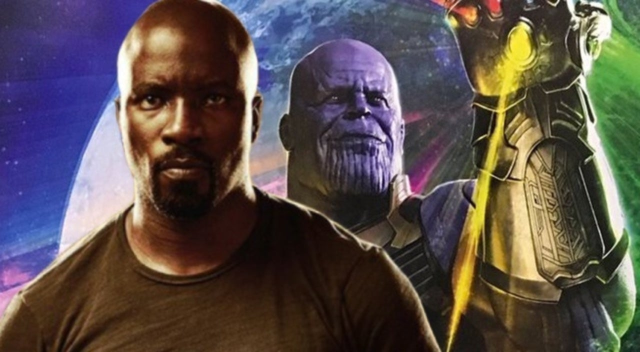 Luke Cage  Star Mike Colter Shares Photo With Infinity Gauntlet  Luke Cage  Star Mike Colter Shares Photo With Infinity Gauntlet