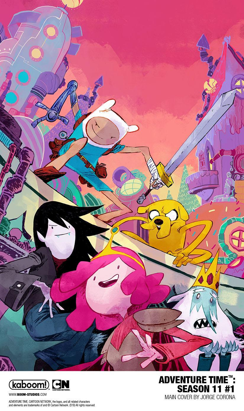 Adventure Time Will Continue with Season 11 Comic Series   Comic Con     Adventure Time Will Continue with Season 11 Comic Series   Comic Con 2018