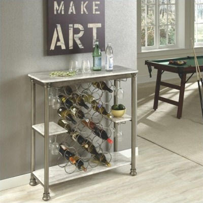 Home Styles The Orleans Storage Wine Rack [489396]