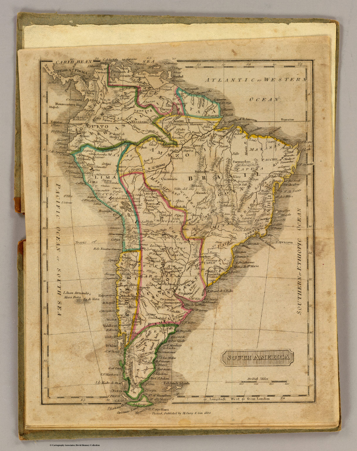 South America    David Rumsey Historical Map Collection South America
