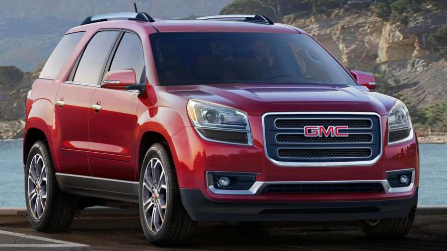 2017 GMC Acadia Limited Review   Ratings   Edmunds 2017 GMC Acadia Limited