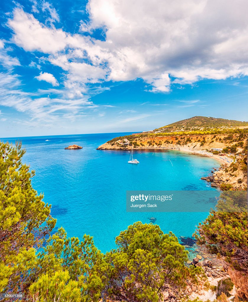 Ibiza Island Stock Photos and Pictures   Getty Images Beautiful view on Cala D hort on Ibiza