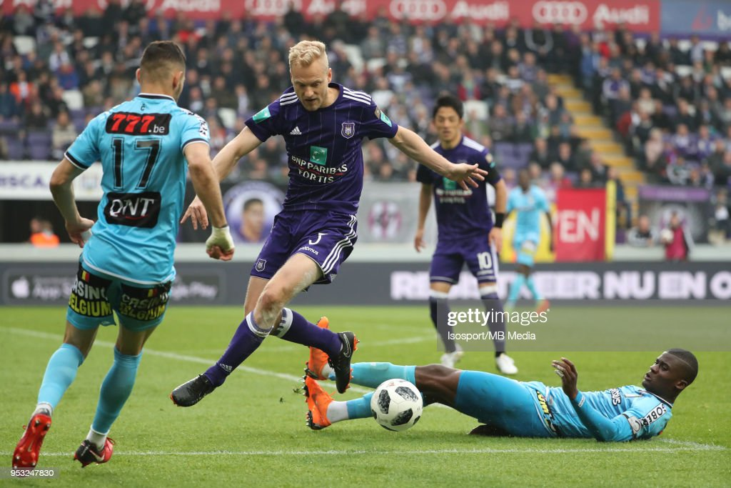 20180429 - Brussels , Belgium / Rsc Anderlecht v Sporting Charleroi /... News Photo | Getty Images