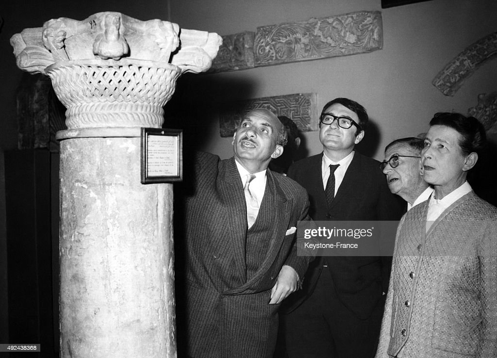 Claude Lanzmann Pictures and Photos   Getty Images Claude Lanzmann JeanPaul Sartre and Simone de Beauvoir visiting the Coptic  Museum in Cairo 1967 in