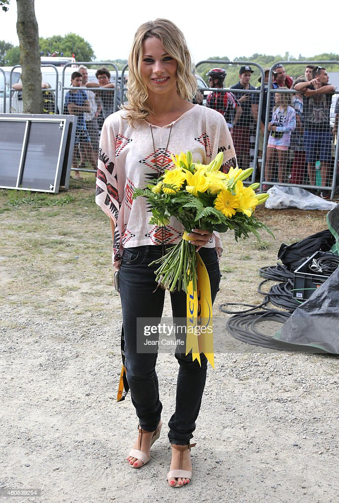 Marion Rousse Stock Photos and Pictures   Getty Images Cyclist champion Marion Rousse poses during stage nine of the 2015 Tour de  France a 28