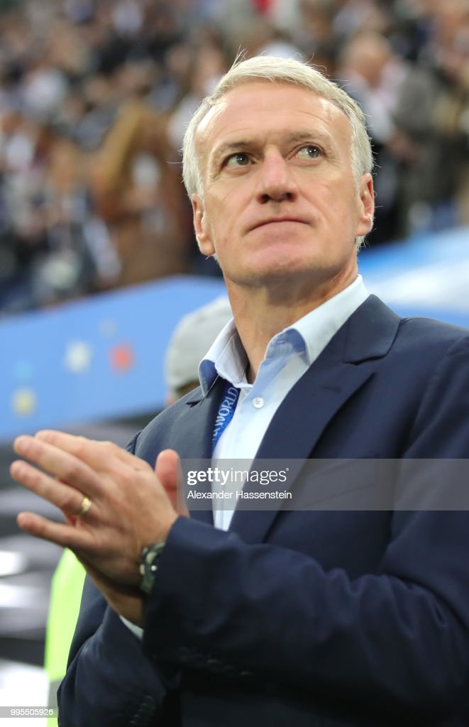 Didier Deschamps Pictures and Photos   Getty Images Didier Deschamps Manager of France looks on prior to the 2018 FIFA World  Cup Russia Semi
