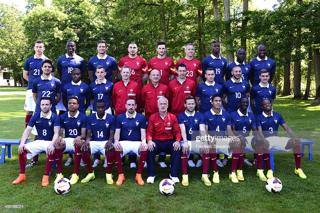 France National Football Team Pictures and Photos   Getty Images France s national football team players defender Laurent Koscielny  midfielder Moussa Sissoko forward Olivier Giroud goalkeepers Stephane