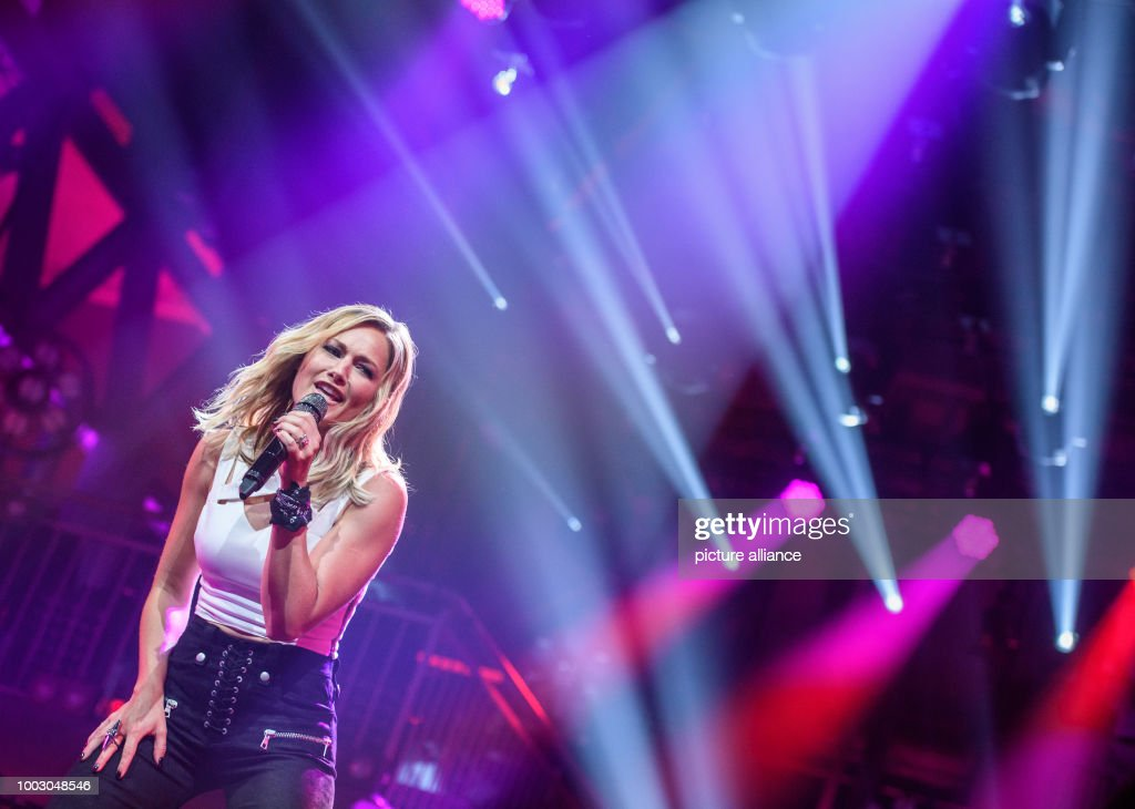dpa exclusive  Helene Fischer in Munich Pictures   Getty Images EXCLUSIVE   German singer Helene Fischer performs on stage during a concert  marking the release of