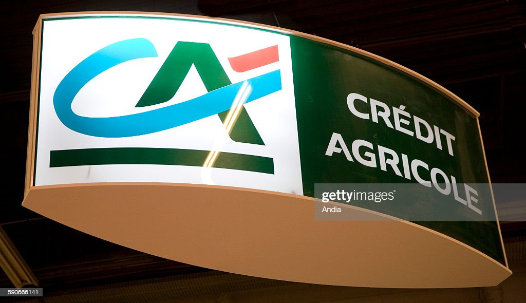 Credit Agricole bank Pictures   Getty Images Logo  Credit Agricole  bank