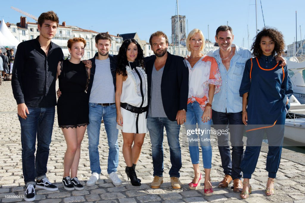 Plus Belle La Vie Stock Photos and Pictures   Getty Images  Plus belle la vie  TV fiction team poses during day 4 photocall of 20th