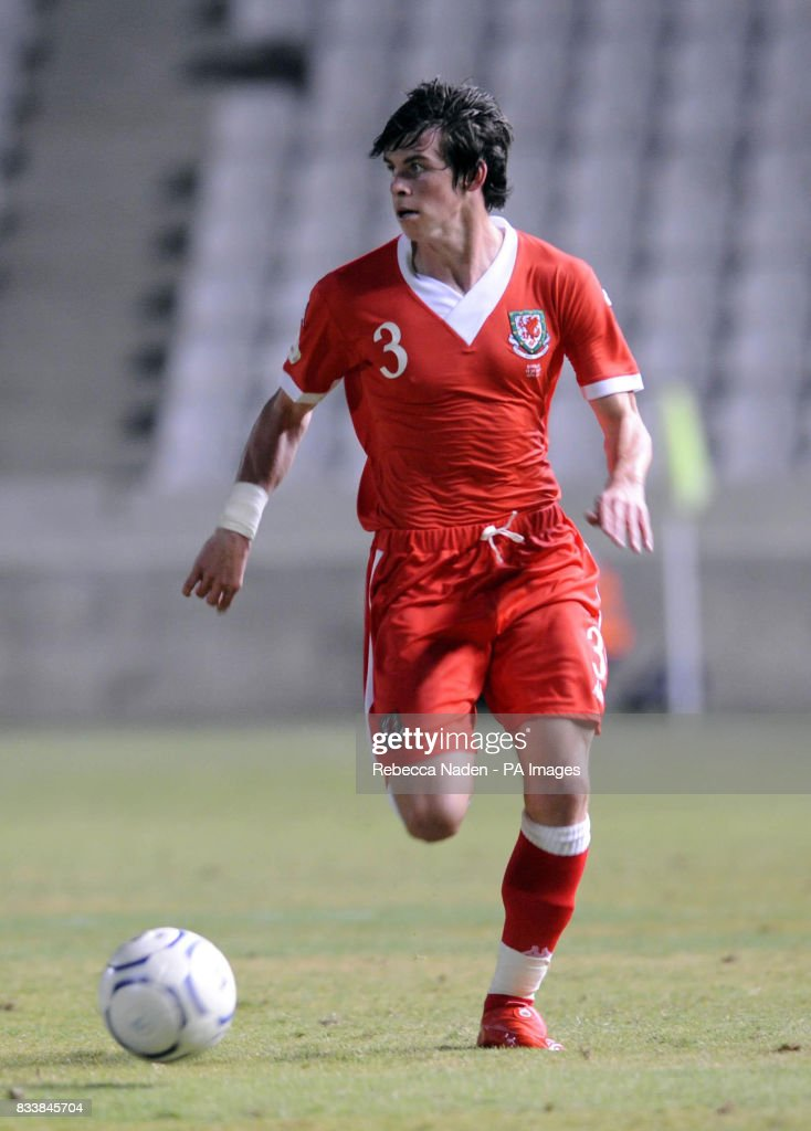 Soccer   UEFA European Championship Qualifying   Group D   Cyprus v     Wales Gareth Bale during the UEFA European Championship Qualifying match at  Neo GSP Stadium  Nicosia
