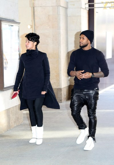 Surprise! Usher and Girlfriend Grace Miguel Married in ...