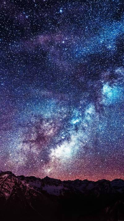 Space galaxy wallpapers for iPhone and iPad