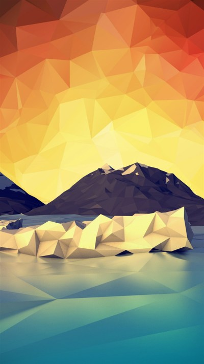 A beautiful collection of geometric wallpapers for iPhone