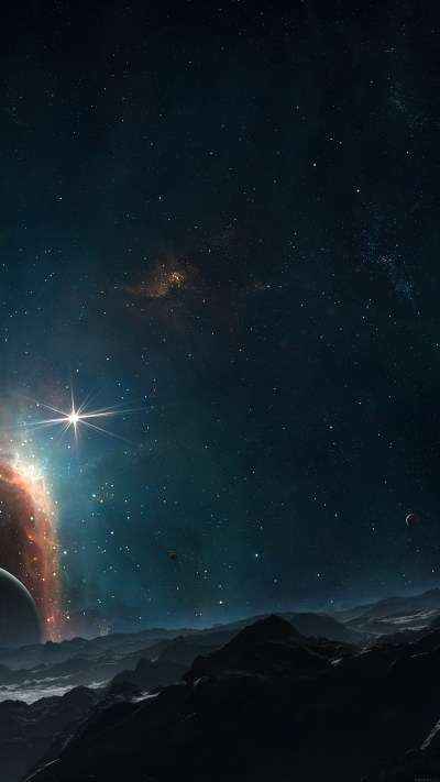 Gorgeous galaxy wallpapers for iPhone and iPad
