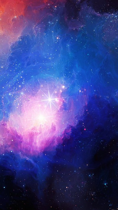 Gorgeous galaxy wallpapers for iPhone and iPad