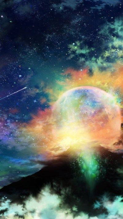 Expansive space wallpapers for iPhone, iPad, and desktop