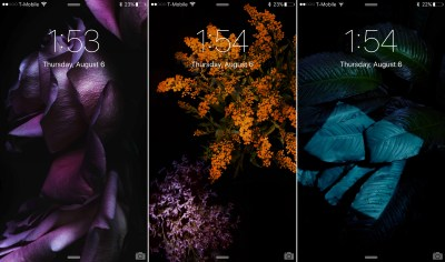 A look at the 15 new wallpapers in iOS 9 beta 5