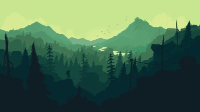 Firewatch wallpaper for iPhone and desktop