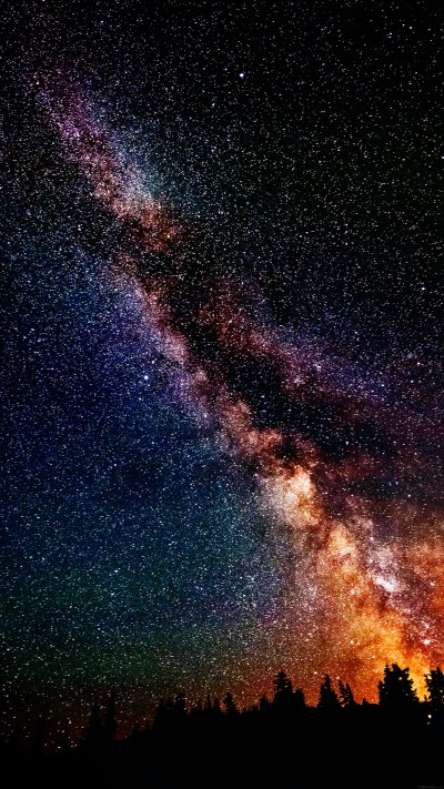Wallpapers of the week: galaxy stars