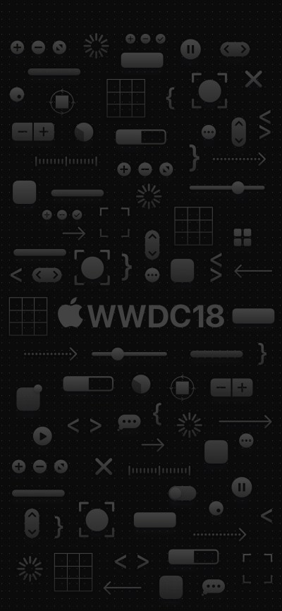 WWDC 2018 iPhone wallpapers