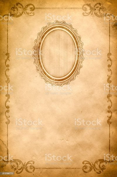 Old Paper Background With Oldfashioned Frame And Border Stock Vector Art & More Images of Aging ...