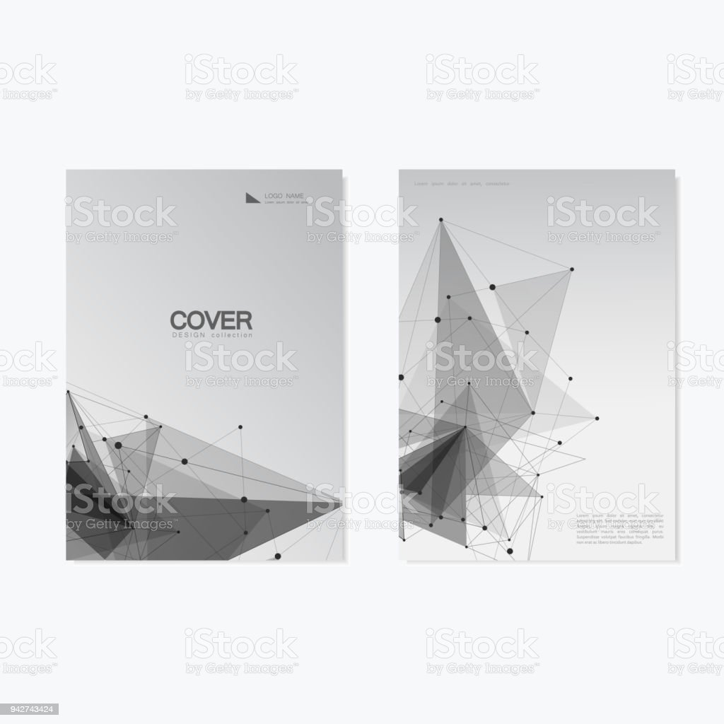 Business Cover Brochure Design Vector Geometry Abstract Background     Business Cover Brochure Design   Vector Geometry Abstract Background  royalty free business cover brochure design