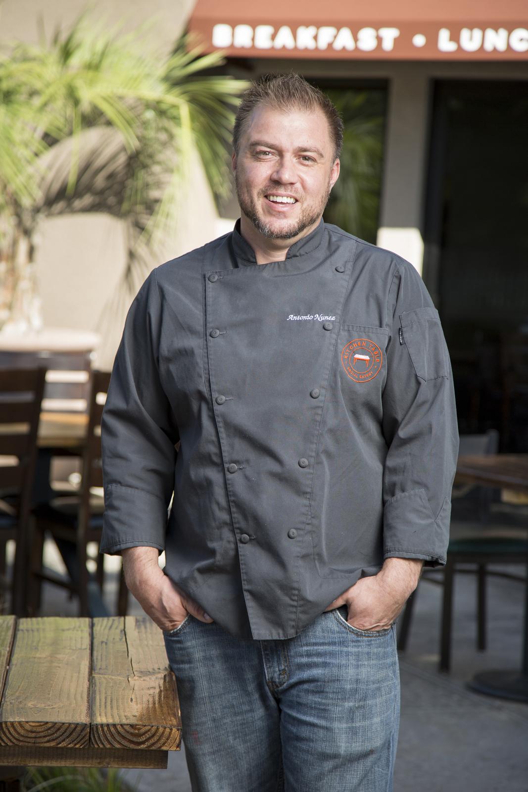antonio nunez builds a winner in the neighborhood kitchen table las vegas