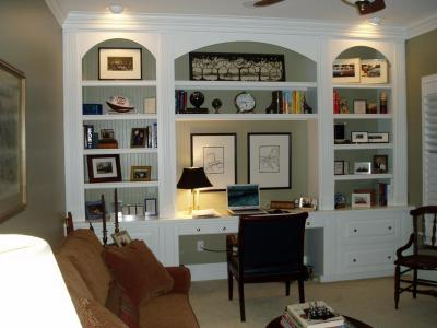 Home office built ins   Home Design   Pinterest