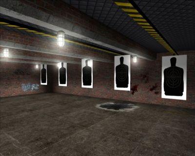 New shooting range image - Police Brutality mod for Half-Life 2 - Mod DB