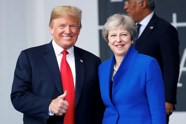 Britain Greets Donald Trump with Green Day s    American Idiot      The     That the single is now being used as a protest tool  situating Trump on a  continuum of American Idiots  feels satisfyingly true to Green Day s  pugnacious