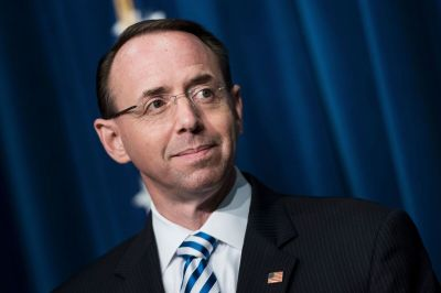 Rosenstein Says Most Important Part Of The Job Is To Maintain Public Confidence : NPR